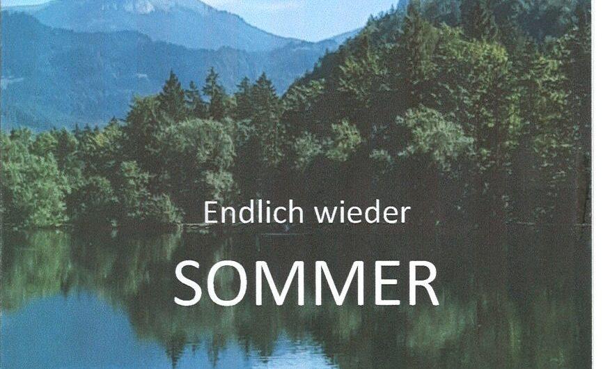 ENDLICH WIEDER SOMMER